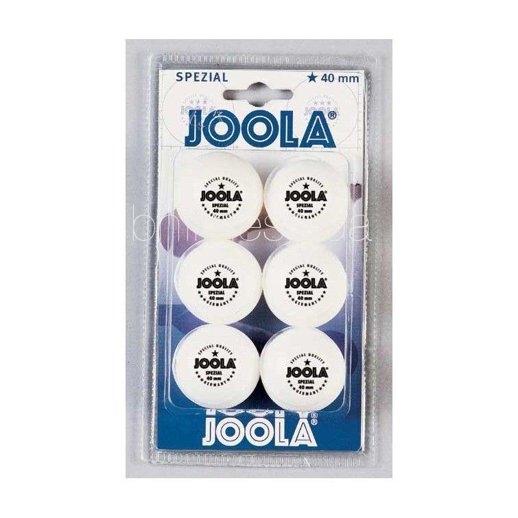 joola Мячики для настольного тенниса Joola SPECIAL (6 шт)