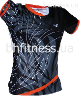 Футболка Victor Shirt Korea Open Female Black 6633