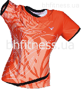 Футболка Victor Shirt Korea Open Female Orange 6633