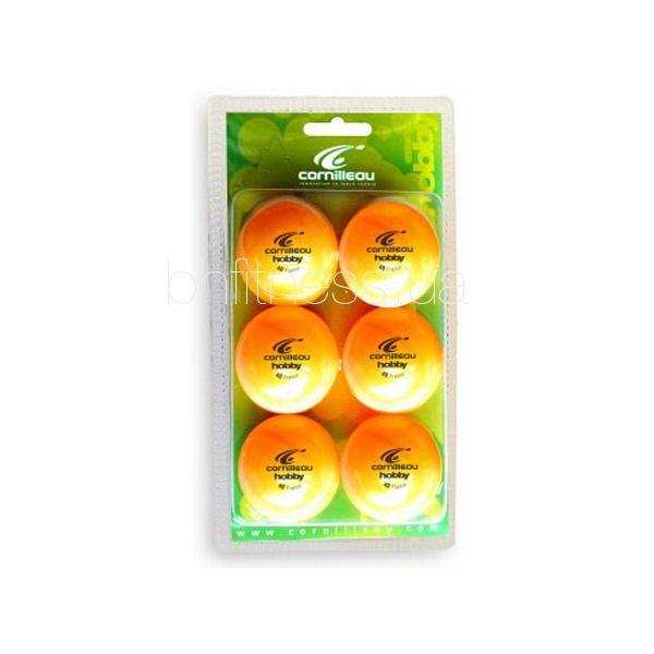 cornilleau Мячики Cornilleau Hobby, оранжевые