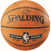 Баскетбольный мяч Spalding NBA Platinum Outdoor Size 7 NBA-PL-OUT 7