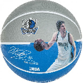 Баскетбольный мяч Spalding NBA Player Dirk Nowitzki Size 7 NBA DN 7