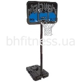 "Баскетбольная стойка Spalding NBA Silver Highlight 44"" Rectangle Composite 77623CN"