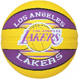 Баскетбольный мяч Spalding NBA Team L.A. Lakers Size 7 NBA TLAL 7