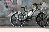 Электровелосипед Porsche Electrobike RD (black/yellow)