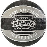 Баскетбольный мяч Spalding NBA Team SA Spurs Size 7 NBA TSAS 7