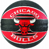 Баскетбольный мяч Spalding NBA Team Chicago Bulls Size 7 NBA TCB 7